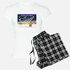 XmasSunrise/Deerhound Pajamas