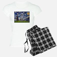 Starry Night/Scottish Deerhou Pajamas