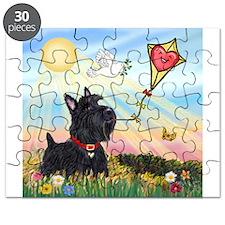 Kite & Scottish Terrier Puzzle