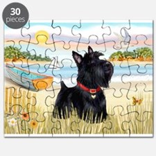 Rowboat & Scottie Puzzle