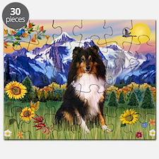 Mt. Country & Tri Shetland Sheepdog Puzzle