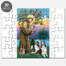 St Francis / Two Shelties Puzzle