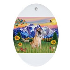 Mt Country / Shar Pei (#5) Ornament (Oval)