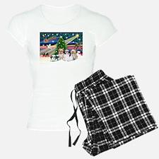XmasMagic/4 Shih Tzus Pajamas