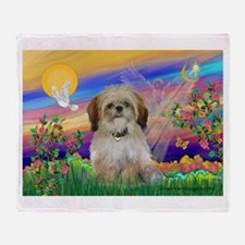 Guardian - Shih Tzu (P) Throw Blanket