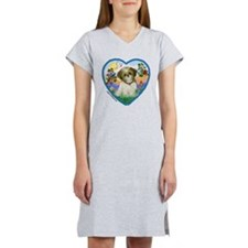 Shih Tzu in my heart (P) Women's Nightshirt