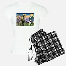 Saint Francis & Husky (red si Pajamas