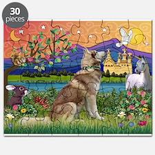 Fantasy Land Husky Puzzle
