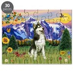 Mt Country & Husky Puzzle