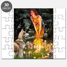 Midsummer's Eve Husky Puzzle