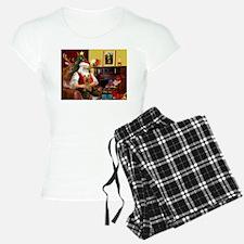 Santa's Silky Terrier Pajamas