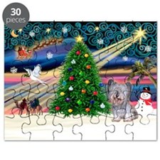 Xmas Magic / Skye Terrier (Bl Puzzle