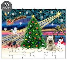 Xmas Magic / Skye Terrier Puzzle