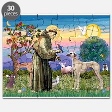 Saint Francis & Sloughi Puzzle