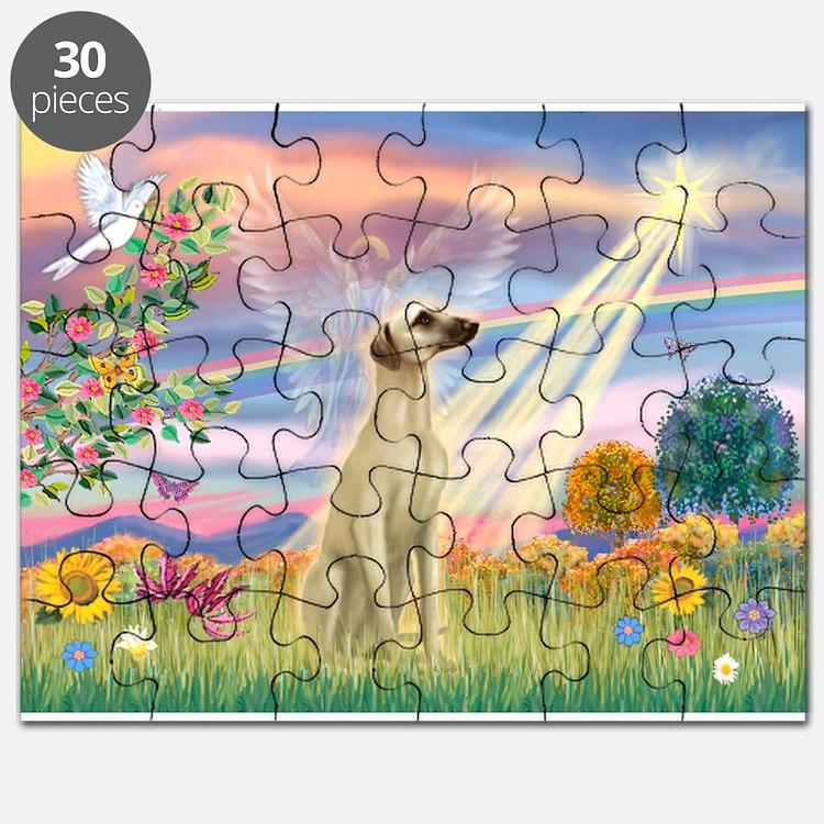 Cloud Angel & Sloughi Puzzle