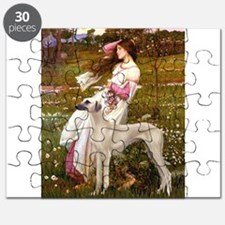 Wind Flowers & Sloughi Puzzle