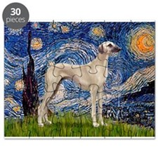 Starry Night Sloughi Puzzle