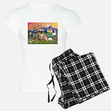 Tibetan Spaniel in Fantasy La Pajamas