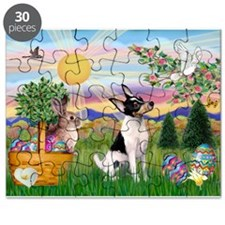 Toy Fox Terrier Easter Puzzle