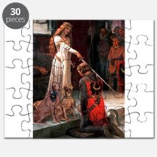 Princess & Weimaraner Puzzle