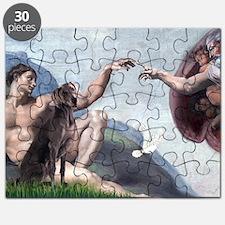Weimaraner Creation Puzzle
