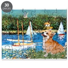 Monet's Sailboats Puzzle