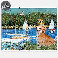 Monet's Sailboats Puzzle