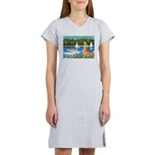 Monet's Sailboats Women's Nightshirt