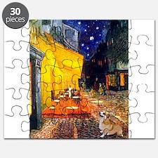 Terrace Cafe & Corgi (Pem) Puzzle