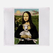 Mona & Whippet Throw Blanket