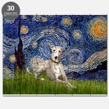 Starry Night & Whippet Puzzle