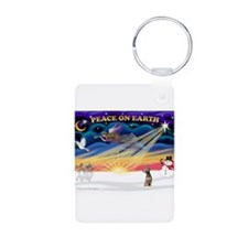 XmasSunrise/Xolo Aluminum Photo Keychain
