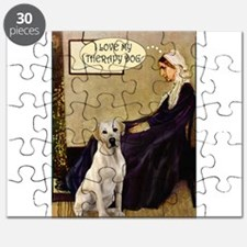 Mom's Yellow Lab (TH) Puzzle
