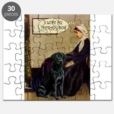 Mom's Black Lab (TH) Puzzle