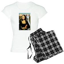 Mona Lisa's Llama Pajamas