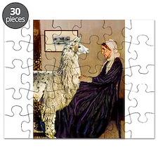 Mom's Llama Puzzle