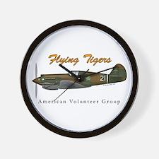 Flying Tigers, American Volun Wall Clock