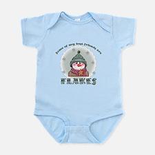 Flakes Infant Bodysuit