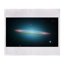 Cute Spitzer space telescope Throw Blanket