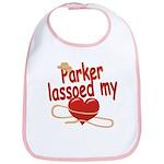 Parker Lassoed My Heart Bib