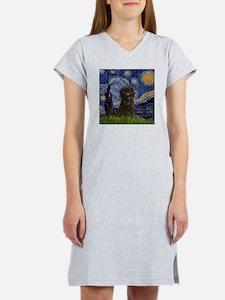 Cute Affenpinscher Women's Nightshirt