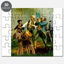 Spirit of '76 Airedale Puzzle
