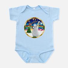 XmasMusic3/American Eskimo #3 Infant Bodysuit