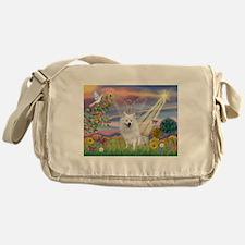 Cloud Angel / Eskimo Messenger Bag