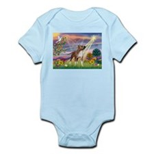 Cloud Angel & Amstaff Infant Bodysuit