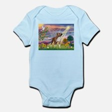 Cloud Angel & Amstaff Infant Bodysuit