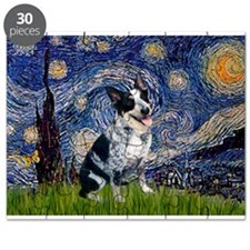 Starry Night/ Australian Catt Puzzle