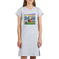 SunriseLilies/Aussie Terrier Women's Nightshirt