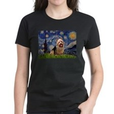 Starry Night Aussie Terrier Tee