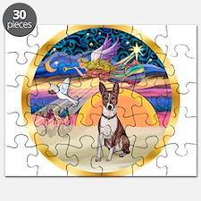 XmasStar/Basenji (brin) Puzzle